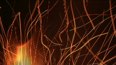 Palo kipinöitä Arkistovideo