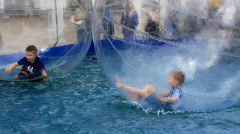 Water amusement Stock Footage