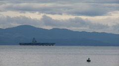 USS Ronald Reagan Stock Footage