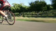 Cyclists 15 Stock Footage
