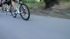 Cyclists 18 Stock Footage