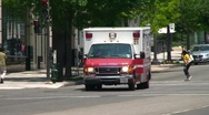 Stock Video Footage of Medical - Ambulance in Washington DC
