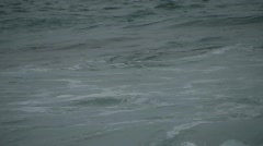 HD1080i Waves on the Beach in Alghero/Italy (+Sound) Stock Footage