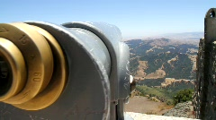Tourist Telescope Stock Footage