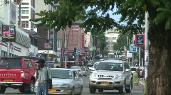 Malawi: Blantyre city streets 6 Stock Footage