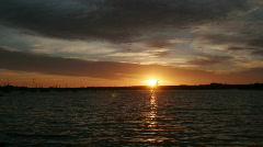 English Bay sunset 2 Stock Footage