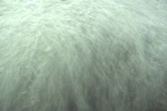 Waterfall Underwater Bubbles Stock Footage