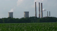 Chalk Point Coal Power Plant HD Stock Footage