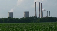 Stock Video Footage of Chalk Point Coal Power Plant HD