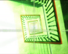 Elevator.3d animation Stock Footage