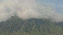 Dramatic timelapse shots of the Virunga volcanoes on the Rwanda Congo border. - stock footage