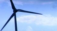Wind generator  close up Stock Footage