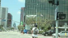 LA Intersection Stock Footage