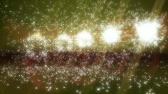 Lens flare explosion loop Stock Footage