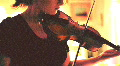 t193 old film violin fiddle string instrument 35mm 16mm Footage