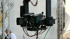 TV-camera Stock Footage