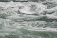 Powerful river rapids. Closeup.SD. - stock footage