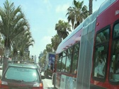 Driving LA Streets 2 Stock Footage