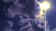 Stock Video Footage of Clouds Cover Sun 1