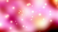Multicolor Clouds and Flares Looping Animated Background  Stock Footage