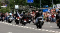 Bikers parade HD Footage