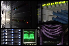 Network Communications NTSC Stock Footage