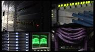 Network Communications NTSC Stock Footage
