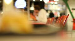 Fast food 2 Stock Footage