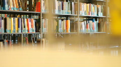 University library 1 Stock Footage