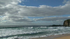 7 miles beach Stock Footage