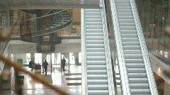 Warsaw stock exchange building Stock Footage