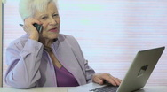 Stock Video Footage of Technology Grandma