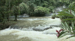 P01058 YS Falls in Jamacia Stock Footage