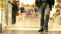 Shopping mall 32 Stock Footage