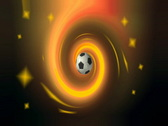 Soccer Ball Motion Stock Footage