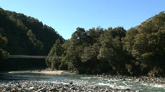 Blue pools, New-Zealand Stock Footage
