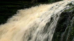 Catlins, New-Zealand waterfall Stock Footage