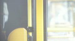 Public transportation bus 2 - stock footage