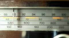 radio new01 - stock footage