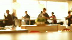 Restaurant 3 Stock Footage