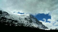 Summit at Eiger, Switzerland - stock footage