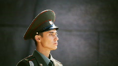 Russian soldier Stock Footage