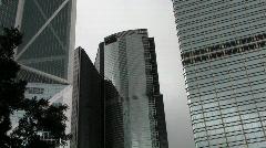 Tall Ofice buildings Stock Footage