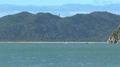 Golden bay, New-Zealand Stock Footage