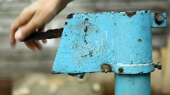 Water pump Stock Footage