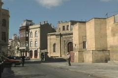 Azerbaijan Old town Baku Stock Footage
