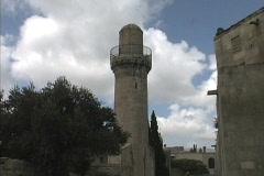 Azerbaijan Ancient minaret Baku Stock Footage
