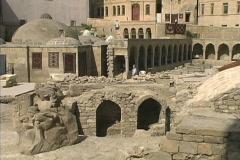 Azerbaijan Archeological site Baku - stock footage
