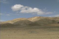 Azerbaijan Desert near Baku Stock Footage