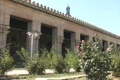 Azerbaijan Historic mosque Stock Footage